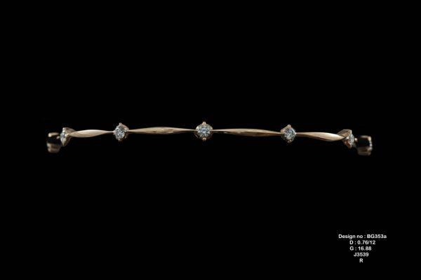 Diamond Bangle 28
